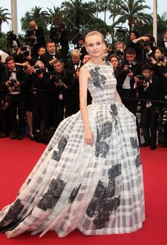 Diane Kruger at Cannes-The 25 Best Red-Carpet Moments This Year - The Cut