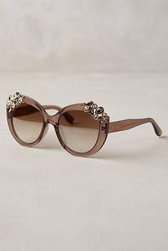 Jimmy Choo Megan Jeweled Sunglasses