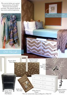 Decor Ideas for Dorm & Home. Great ideas for a dorm room and even your house! DIY your thing? This is your post!