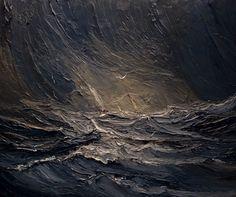Sea Paintings Justyna Kopania art painting nature oil paints