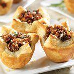Honeyed Fig, Pancetta & Blue Cheese Tartlets