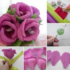 Candy Bouquet you can make in 30 minutes   Каждому в подарок: букет из конфет за 30 мин