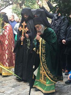 Άγιον Όρος: Κυριακή των Βαΐων στην Ιερά Μονή Δοχειαρίου Αγίου Όρους - Φανερά καταβεβλημένος ο Αρχ. Γρηγόριος | orthodoxia.online