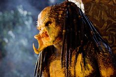 Predators / In none of the Predator movies has any Predator been killed by a firearm.  Wounded by the sniper rifle, but killed, in this movie.