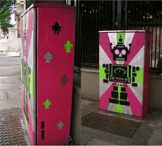 Traffic box, #Dublin