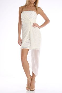 Jump Emily Dress in Ivory