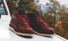 Boylston Trading Co and Portland's Danner Boot come together to bring you the Danner Mountain Light II boots and are limited to 40 pairs globally.