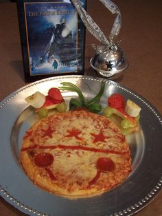Great pizza idea for our annual viewing of The Polar Express. 18th day of Christmas