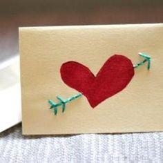 Hand-Sewn Valentine
