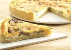 Quiche de setas de temporada Quiches, Savory Tart, Apple Pie, Buffet, Easy Meals, Fall, Desserts, Recipes, Pizza Recipes