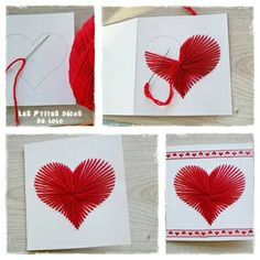 easy diy valentines for kids to share at school Valentines For Kids, Valentine Day Crafts, Valentine Ideas, Diy And Crafts, Crafts For Kids, Paper Crafts, Valentines Bricolage, Paper Embroidery, Mothers Day Crafts