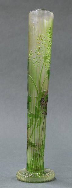 French Art Nouveau bud vase