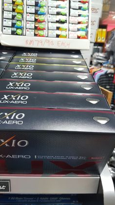FRESH STOCK FROM JAPAN...  THE MOST SOUGHT AFTER GOLF BALLS IN ASIA.    THE XXIO BALLS MADE FOR JAPAN MARKET SOLD AT VKGOLF THE XXIO COMPLETE BOUTIQUE  http://www.vkgolfshop.com  SIMPLY ROCKS LIKE HURRICANE!!!