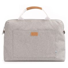 Polaris 13inch Laptop Briefcase (Salt & Pepper)