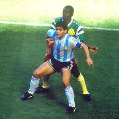 Argentina 0 Camerún 1 (Copa del Mundo Italia 1990,Estadio Giuseppe Meazza,Milán,08/06/1990)