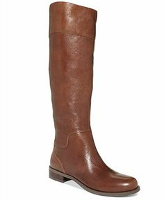 Nine West Counter Zip-Back Riding Boots - Shoes - Macy's