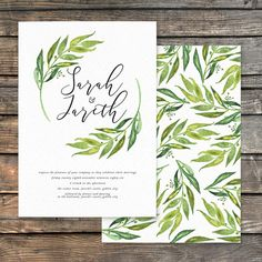 Olive Branch Wedding Invitations — Hawthorne and Ivory Wedding Stationery Sets, Wedding Invitations, Olive Branch Wedding, Envelope Liners, Belly Bands, Rsvp, Ivory, Cards, Wedding Save The Date Sets