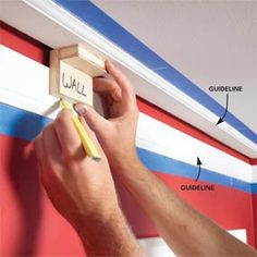 How to install crown molding: 3-piece crown design.