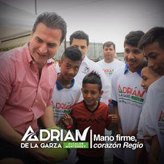 Los jóvenes de Monterrey tienen que contar con todo el apoyo que necesiten para seguir creciendo, para luchar por su ciudad, son la base de la prosperidad y se les brindará toda la atención. Saludos, Adrián de la Garza