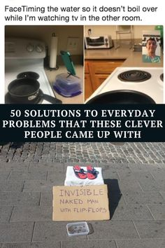 Here are 50 people that came up with ingenious solutions to everyday problems that will make your life so much easier.