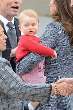 --April,2014--Prince George Saved His Best Unimpressed Facial Expressions Until Last