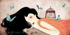Papillons Bleus by `AnneJulieAubry on deviantART