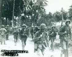 Bougainville USMC Photo No. 1-13  From the Frederick R. Findtner Collection (COLL/3890), Marine Corps Archives & Special Collections   OFFICIAL USMC PHOTOGRAPH