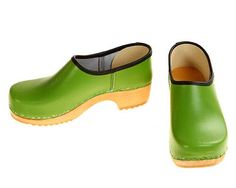 Closed Clog green by berlin27clogs on Etsy https://www.etsy.com/listing/95298184/closed-clog-green
