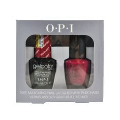 Spe77 Miami Beet B78 Opi Gelcolor Uv Gel Polish with Free Matching Nail Lacquer 05floz -- Visit the image link more details.