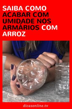 Como acabar com a umidade Getting Things Done, Cleaning Hacks, Dyi, Saving Money, Household, New Homes, Organization, Bottle, Drinks