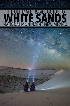 White Sands National Monument, New Mexico Travel Guide New Mexico Road Trip, Travel New Mexico, New Mexico Vacation, New Mexico Camping, Italy Vacation, Tao, White Sands New Mexico, Roswell New Mexico, Clovis New Mexico