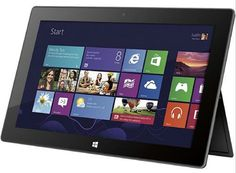 Microsoft Surface 64GB Tablet with Microsoft Office Home and Student 2013 RT, wifi, Bluetooth. Microsoft office home and student 2013 rt preinstalled, word, excel, powerpoint, onenote, outlook. Windows RT; 10.6-Inch ClearType HD Display, Two 720p HD LifeCams, front and rear facing. Wi-Fi (802.11a/b/g/n); Bluetooth 4.0 Technology, 1 x Headphone, 1 x MicroHDMI, 1 x USB 2.0. Quad-core NVIDIA Tegra 3. 64 GB Storage, 2 GB RAM, Up to 8 Hours of Battery Life. Touch Cover/Keyboard Sold Separately…