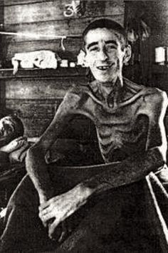 Jack Sharpe was a prisoner in the Outram jail in Singapore; almost no one survived it for two years, and it was from this infamous prison that Sharpe was liberated in August 1945 with the dubious distinction of being its longest survivor. During his captivity, plagued by scurvy, dysentery and scabs, Sharpe saw his weight decreased from 70 kilograms to less than 25 kilograms. He lived to be 88.