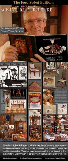 The Ferd Sobol Editions - Miniature Furniture is a just released book that…