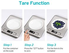 Digital Kitchen Food scale for baking and cooking - Software reviews Food Weight Scale, Food Scale, Digital Pocket Scale, Digital Scale, Cute Kitchen, Glass Kitchen, Kitchen Dining, Breakfast Sandwich Maker, Best Scale