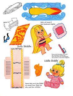 Paper Dolls~Liddle Kiddles Press Out Book - Bonnie Jones - Álbumes web de Picasa