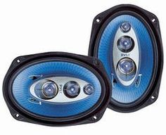 6''x 9'' 400 Watt Four-Way Speakers