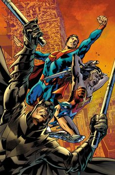 Earth-2 #1 Variant cover by BRYAN HITCH