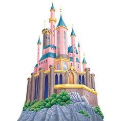 Disney Princess Castle wall mural!!! Home Depot $99.97