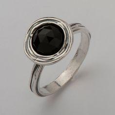 925 Sterling Silver Black Onyx Gemstone by SilverLinningsJewels