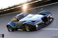 Bugatti 12.4 Atlantique concept car