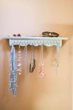 Necklace Holder, jewelry organize, jewelry storage, jewelry display