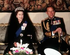 1980: The Queen And Prince Philip At The Vatican For An Audience With The Pope