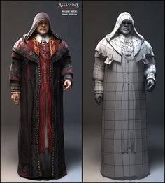 Assassin's Creed 2 | Nicolas Collings character modeler portfolio