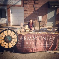 Our Main Line Aesthetician Ashley, at the Narberth Dickens Festival 2014