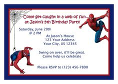 spiderman_birthday_party_invitation_templates.jpg 500×357 Pixel