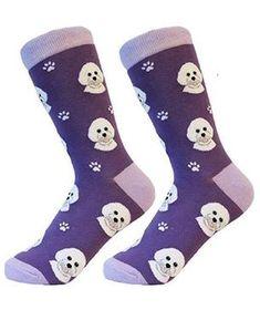 Life Is Too Short To Wear Boring Socks! Dog Socks, Cat Statue, Novelty Socks, Bichon Frise, Cotton Socks, Life Is Short, Fashion Brands, Daddy, Unisex