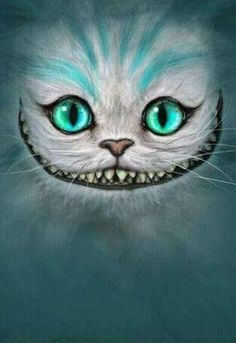 sonrisa del gato del pais de las maravillas #fondo de #pantalla