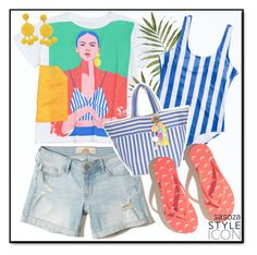 """""""summer vibes by Sasoza"""" by sasooza ❤ liked on Polyvore featuring Hollister Co., Humble Chic and JADEtribe"""