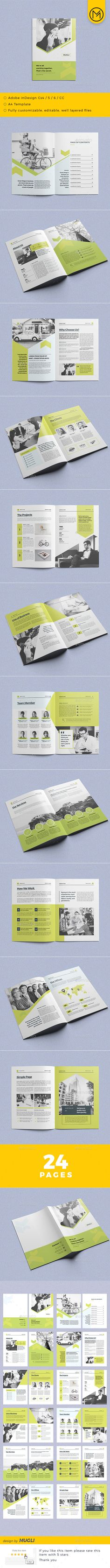 #Corporate #Brochure - Corporate Brochures Download here: https://graphicriver.net/item/corporate-brochure/19316412?ref=alena994